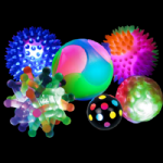 Light Up Balls Sensory Kit